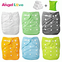 WASHABLE CLOTH POCKET DIAPERS