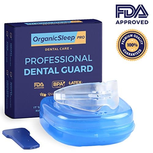 Sleep Night Mouth Guard. Bruxism Eliminator Sleep Aid Mouthpiece: