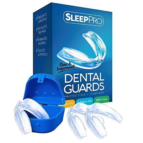 SleepPro Mouth Guard for Grinding Teeth and Clenching- B07CXRV3B2