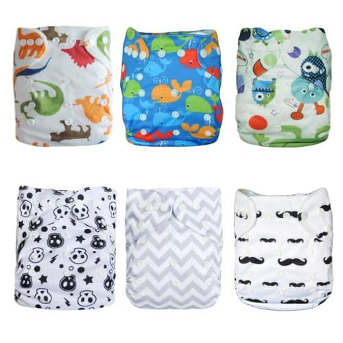 ALVABABY Cloth Diapers Pocket