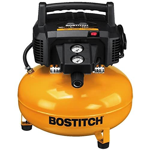 Bostitch BTFP02012 6Gallon 150 PSI Oil-Free Compressor