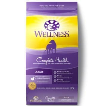 Wellness Complete Health Natural Dry Dog Food Chicken & Oatmeal Recipe