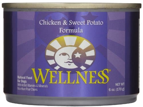 Wellness Complete Health Natural Wet Canned Dog Food Chicken & Sweet Potato Recipe