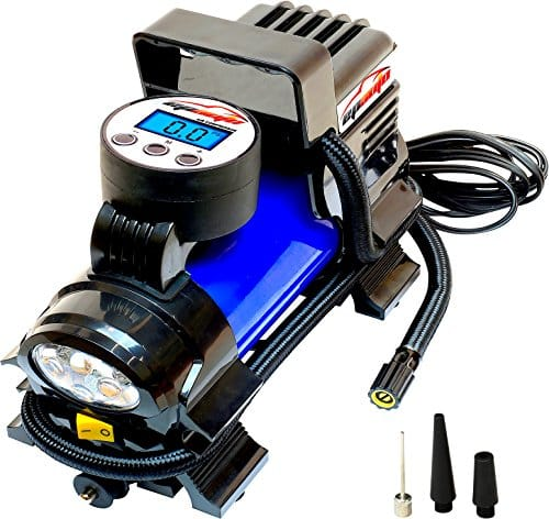 EPAuto 12V DC Portable Air Compressor Pump with Digital Tire Inflator