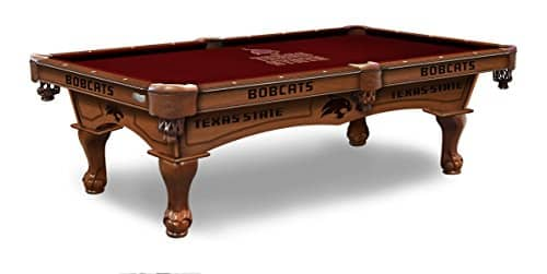 Texas State Eight Foot Branded Pool Table