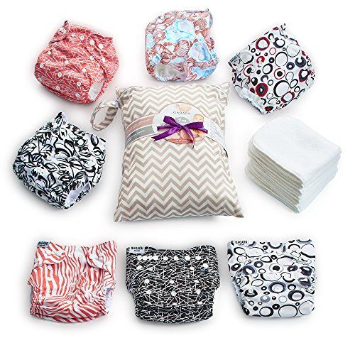 QAOADU Unisex Cloth Diapers