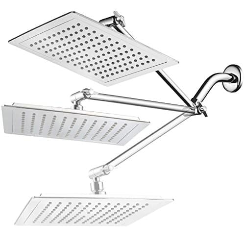 Angled Square Showerhead