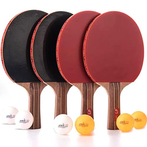 Jebor Professional Advanced Training Table Tennis Racket