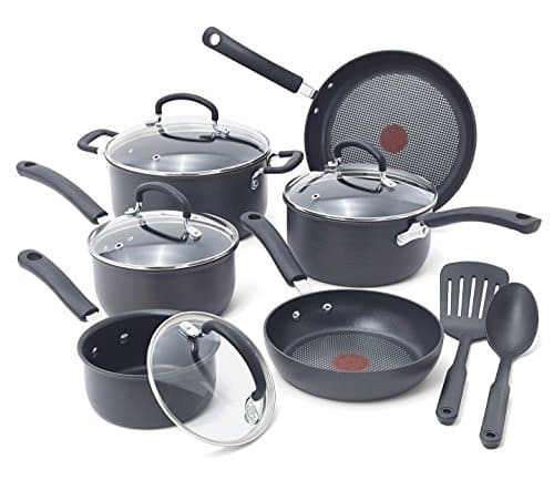 T-fal E918SH Ultimate Hard Anodized Non-stick Dishwasher Safe Oven Safe Cookware