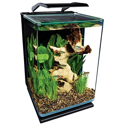 Marine Land Portrait Glass LED Aquarium Kit
