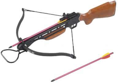 150 Pound Crossbow With Two Arrows
