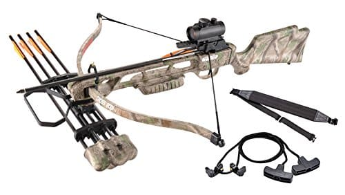XGear Crossbow 160lbs 210fps Archery Equipment, Hunting Bow Package