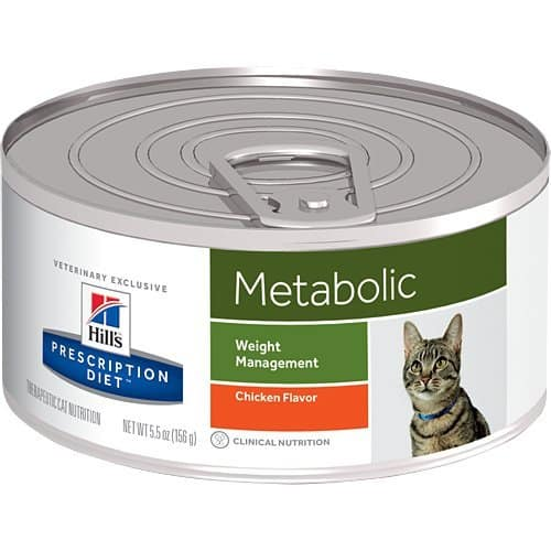Hill's Prescription Diet Metabolic Weight Management Chicken Flavor Canned Cat Food