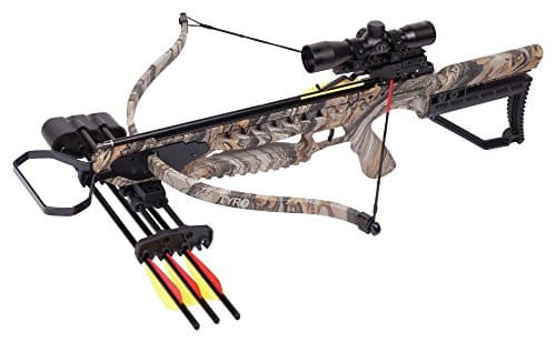 CenterPoint Tyro 4X Crossbow Camouflage Crossbow Package