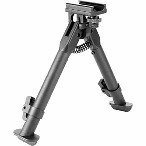 M1SURPLUS Compact Height Adjustable Tactical Rail Mount Bipod