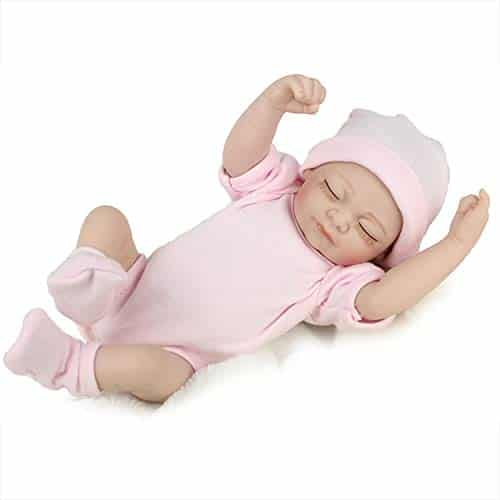 PENSON & CO. Reborn Newborn Baby Doll Handmade Silicone Vinyl Weighted Alive Doll.