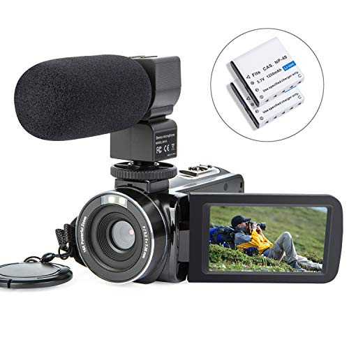 Camcorder Digital Video Camera Recorder Vlogging Camera Camcorder YEEHAO