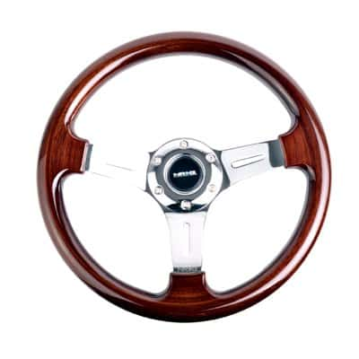 NRG Innovations ST-015-1CH Classic Wood Grain Wheel