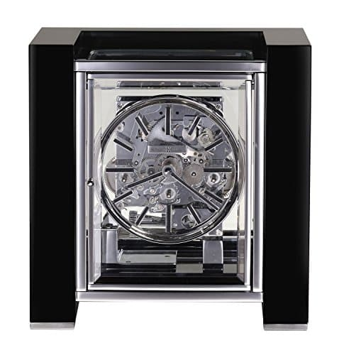 Howard Miller 630270 Park Avenue LMTD Edition Mantle Clock, Gloss Black