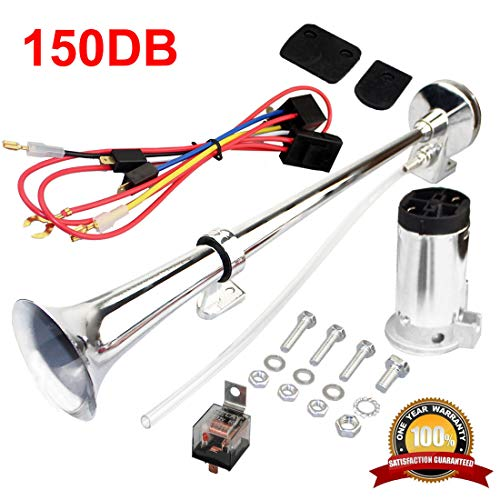 MIRKOO 12V 150dB Car Air Horn Kit