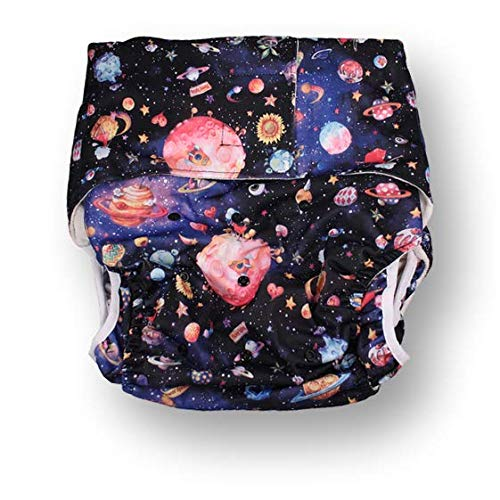 Rearz – Planets – Bamboo Luxury Adult Pocket Diaper
