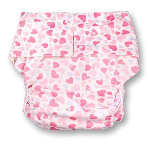 Rearz – Hearts – Adult Pocket (Minky Fabric)