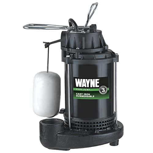 WAYNE Submersible Cast Iron and Steel Sump Pump
