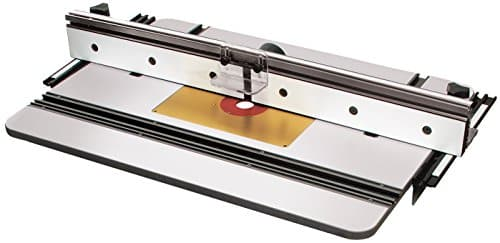 MLCS 9580 Phenolic Router Table, X1 Fence and Aluminum Insert Plate