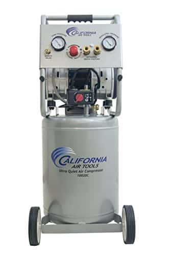 California Air Tools Ultra Quiet, Oil Free and Powerful 2 Hp Air Compressor