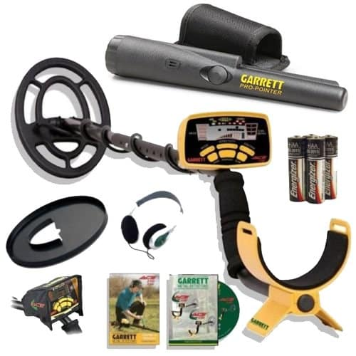 Garrett Ace 250 Metal Detector Discover Pack With Pro Pointer With Headphones