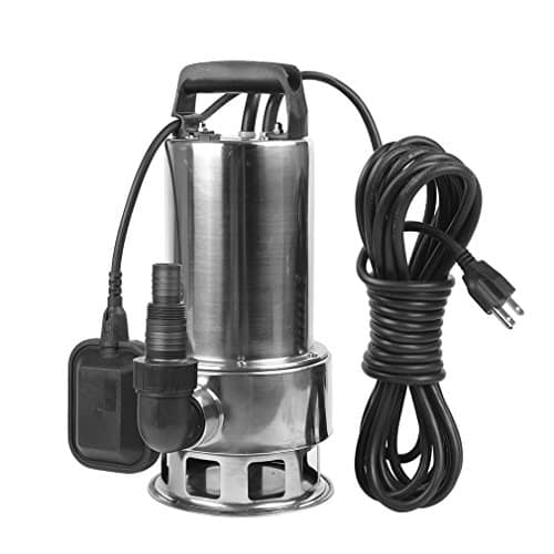 EXTRAUP Stainless Steel Sump Submersible Drain Water Transfer Pump