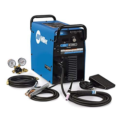 Miller Diversion 180 TIG Welder, 120V - 240V 180 Amp