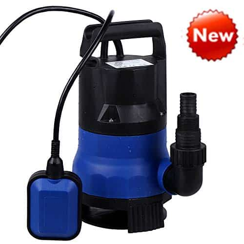 Sump Pump 1/2HP Clean Dirty Water Submersible Pump