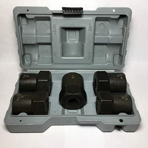 Maximum Drive Impact Rated Bolt, Nut, And Lug Nut Extractor Set