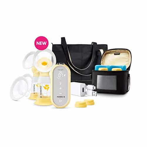 Medela Freestyle Flex Breast Pump, Closed System Quiet Portable Double Electric Breastpump
