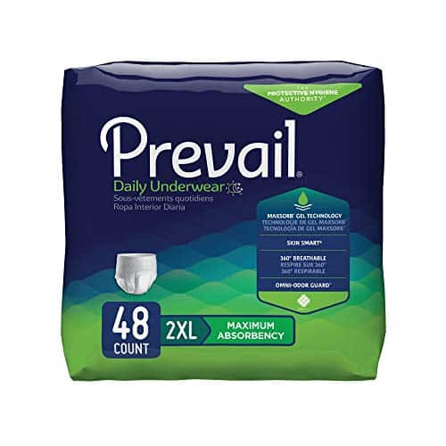 Prevail Incontinence Protective Underwear