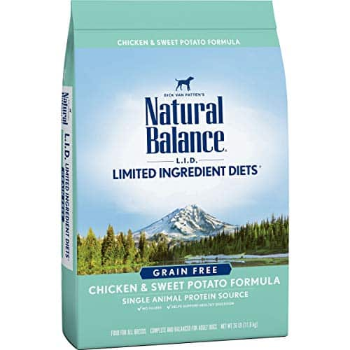 Natural Balance L.I.D Limited Ingredient Diets Dry Dog Food, Grain-Free