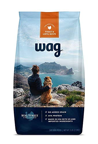 Amazon Brand- Wag Dry Dog Food, 35% Protein