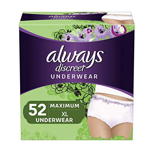 Always Discreet Incontinence & Postpartum Underwear for Women