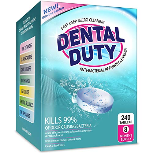 240 Retainer and Denture Cleaning Tablets