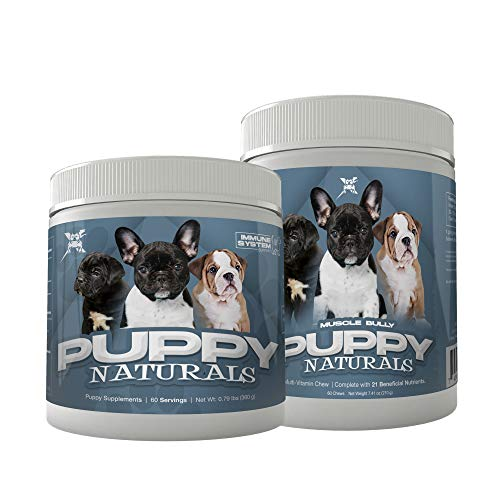 Muscle Bully Nutritional Formula for Growing Puppies of All Breeds