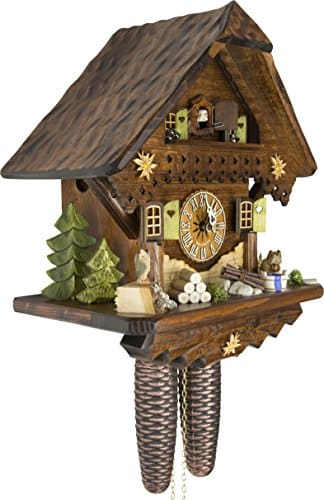 Cuckoo-Palace German Cuckoo Clock - Summer Meadow Chalet