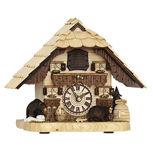 Hermle BENDORF Tabletop Quartz Cuckoo Clock